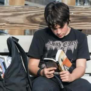Literacy Trunk: Struggling Adolescent Male Readers Image